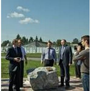 Юрченко открыл вторую очередь строительства Сибирского Завода Металл Профиль