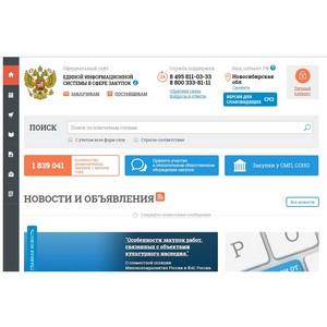 Заказчиков Новосибирской области научат работать в информационных системах по госзакупкам