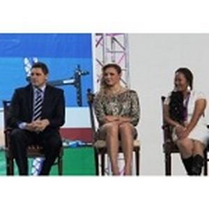 Северо-Восточный банк Сбербанка России поздравил Олимпийцев