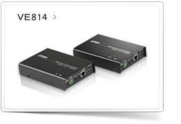 HDMI ���������� VE814 - ����� ������� ATEN ��� ����������������� A/V