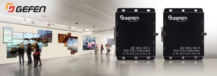 Акция Инсотел: выгодное решение HDMI 4Kх2K 3D AV передачи по витой паре