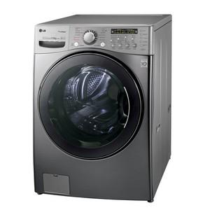 Большая стирка с новой 17 кг стиральной машиной LG f1255rds  с функциями True Steam™ и сушки