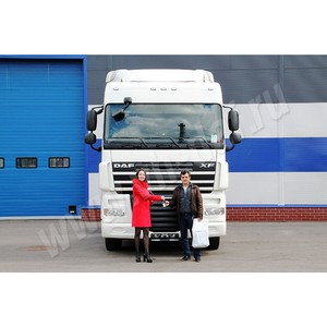Поставка нового грузовика DAF FT XF105