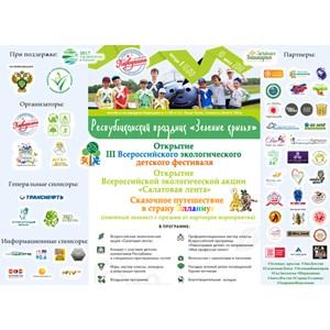 Открытие III Всероссийского детского экологического фестиваля на аэродроме «Первушино»