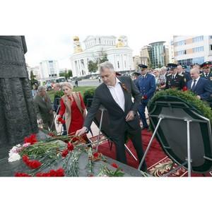 Активисты ОНФ в Мордовии почтили память погибших в годы Великой Отечественной войны