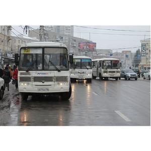 ОНФ обеспокоен проблемами организации движения общественного транспорта в Воронеже
