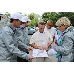 Активисты ОНФ проводят встречи с жителями Белгорода по вопросу благоустройства дворовых территорий