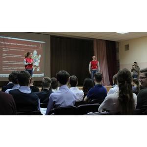 Футбол без дискриминации показали волонтеры школьникам в День толерантности