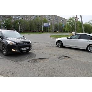Активисты ОНФ провели в Оренбурге рейд по дорожным участкам, отмеченным на карте «убитых» дорог