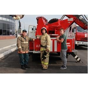 «Маринс Парк Отель Нижний Новгород» принял участие в показательных пожарно-тактических учениях