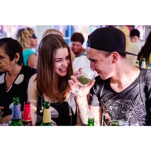 Более 300 гостей «Фестиваля реки Дон» приняли участие в проекте «Пивной Сомелье»