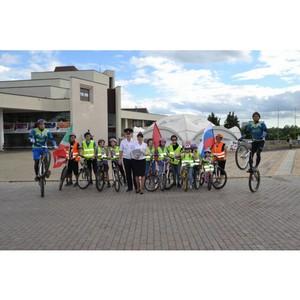 Сотрудники ГИБДД провели велопробег «Безопасный велосипед - 2018»