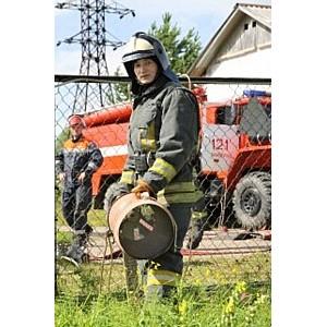 На подстанции Микунь в Р-ке Коми прошли совместные учения пожарных и энергетиков