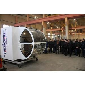 ОНФ в Коми организовал для студентов техникума экскурсию на завод башенных кранов в Сыктывкаре