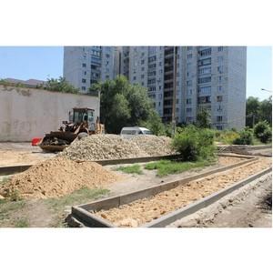 Воронежские эксперты ОНФ обеспокоены качеством работ во дворах, где началось благоустройство