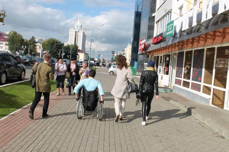 Активисты ОНФ в Мордовии провели мониторинг доступной среды для инвалидов в Саранске