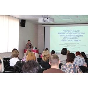 В Сургутской ОКБ обсудили вопросы диагностики и лечения пациентов с иммунодефицитом