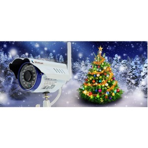 Беспроводная система видеонаблюдения на новогодней ярмарке