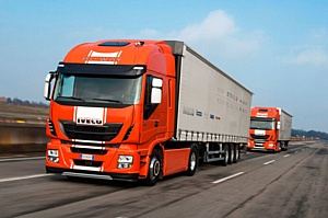 Тягачи Iveco завершили первый трансграничный автопробег грузовиков с полуавтоматическим управлением