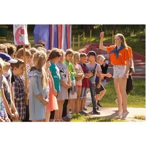 Дети сотрудников «Липецкцемента» бесплатно отдохнули в летних лагерях