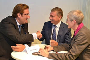 Глава ДВМС на выставке «Expo Real» встретился с обер-бургомистром Дюссельдорфа