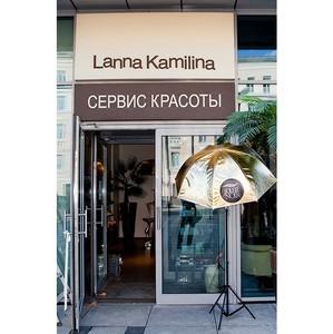 Летний коктейль Soleil Noir в салоне Lanna Kamilina