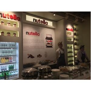 Первый в России бутик Nutella