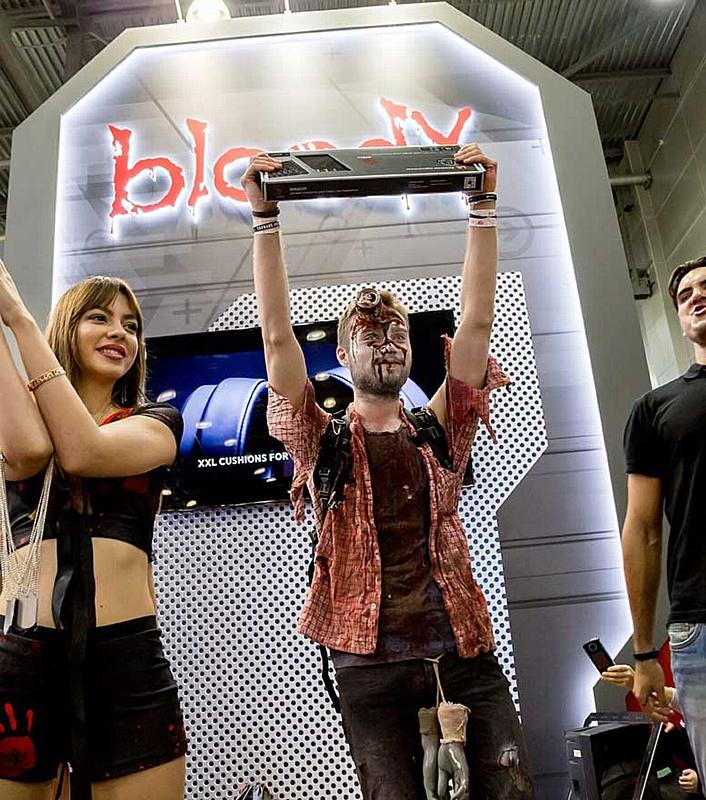 Bloody на выставке «ИгроМир-2018»: новинки для геймеров и яркие конкурсы