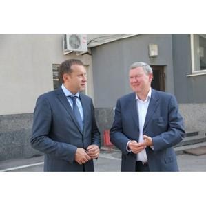 Министр промышленности Самарской области провел рабочую встречу с руководством АО «Теплант»