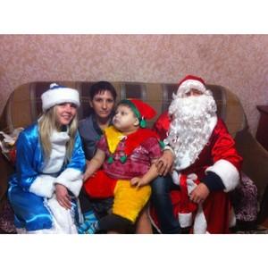 «Молодежка ОНФ» провела в Рузаевском и Большеберезниковском районах Мордовии новогодние мероприятия