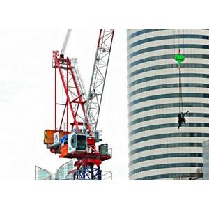 Два башенных крана Yongmaoсо будут строить Новую Москву. Первые итоги СТТ2014.