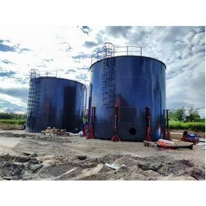Завершается строительство противопожарных резервуаров в Московской области