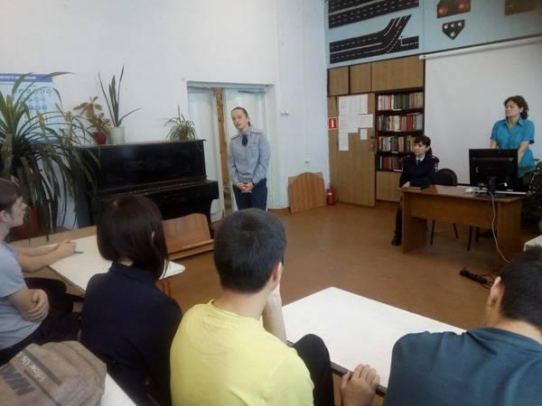 Сотрудники ГУФСИН г. Новокузнецка приняли участие в антинаркотической акции «Классный час»