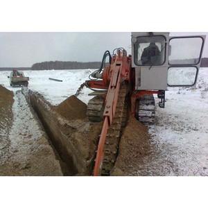 Прокладка кабелей в замерзших и скальных грунтах, по заболоченным участкам