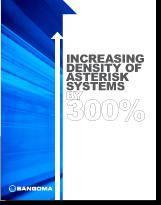 Платы и ПО Sangoma позволяют на 300% увеличить плотность Asterisk !!!