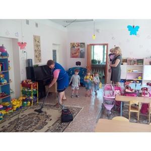ƒень благотворительного труда в ЂƒекЄнинкї дл¤ детского реабилитационного центра