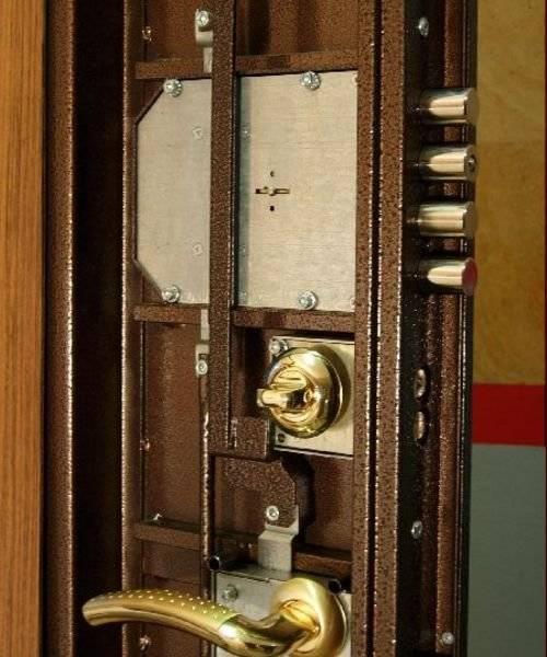 Ремонт замков входной металлической двери