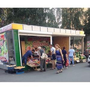 Активисты ОНФ добиваются закрытия несанкционированных торговых павильонов у метро в Петербурге