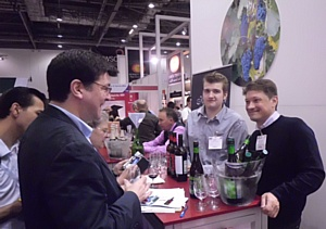 ������ ���� ������ � ������� ����� �� Russian Wine Fair 2012