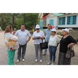Активисты ОНФ изучают качество организации отдыха детей в оздоровительных лагерях Приамурья