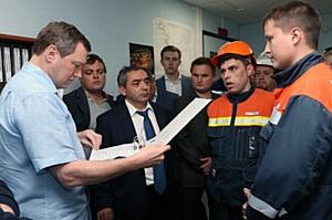 Председатель Правления ОАО «ФСК ЕЭС» Олег Бударгин провел совещание по эксплуатации энергообъектов