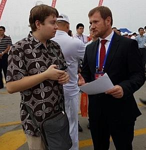 Автомобиль «Руста» стартовал в составе колонны пробега «Китай-Монголия-Россия»