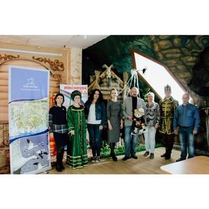 Мишка Пуччи встретился с Главой города Ростов Великий, Иван-Царевичем и Царевной-Лягушкой