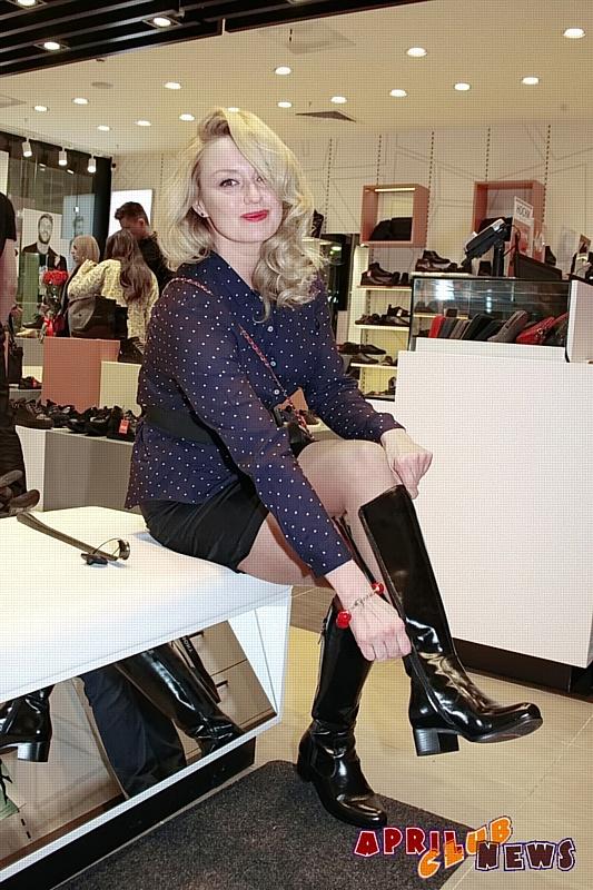 Наталья Гудкова в обуви ценит удобство