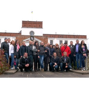 Партнеры компании Ликонд посетили замки Западной Украины