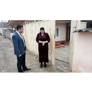 Активисты ОНФ в Дагестане добились установки счетчика газа в доме ветерана ВОВ