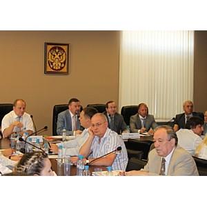 На Окружной конференции СРО М. Воловик анонсировал церемонию «Строймастер-2012»