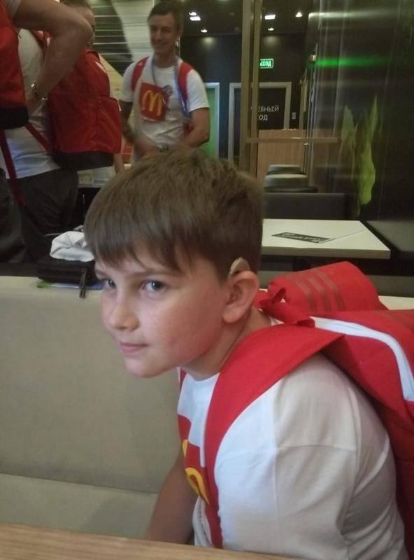 ЧМ-2018 в России помог реабилитации детей с нарушениями слуха