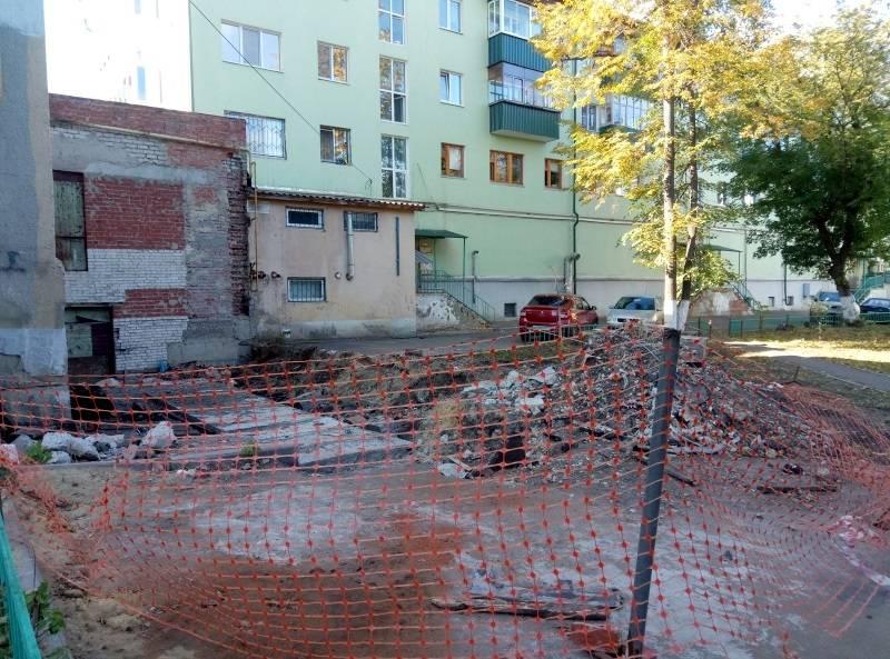 По инициативе ОНФ в Мордовии снесли незаконную постройку