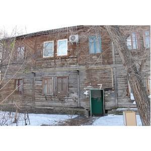Активисты ОНФ намерены ускорить расселение аварийного дома в Красноармейском районе Волгограда